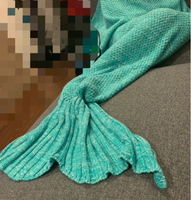 Used Green mermaid blanket in Dubai, UAE