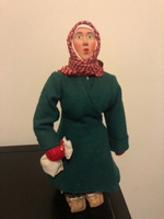 Used European hand vintage doll with bread  in Dubai, UAE