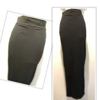Used Brand new fitted long black skirt size S in Dubai, UAE