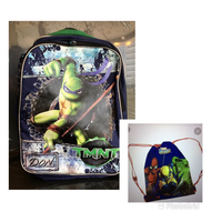 Used Ninja turtle bag + string bag in Dubai, UAE