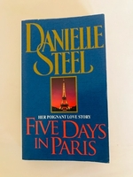 Used 5 days in Paris novel, new  in Dubai, UAE