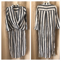 Used Blouse striped size S  in Dubai, UAE