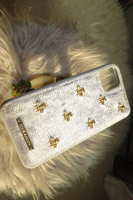 Used Iphone 11 case velvet fabric stylish  in Dubai, UAE