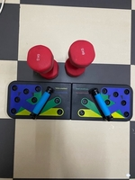 Used 6kg dumbbells and work out board pushups in Dubai, UAE