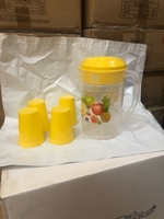 Used Jug Frosty with 4 Tumbler 2 pcs  in Dubai, UAE