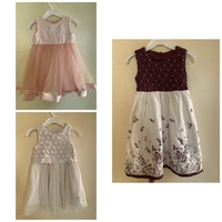 Used 3pcs Dress for 6 to 18mnths in Dubai, UAE