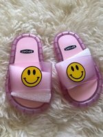 Used Led Slippers Smiley 😃 size EU24 / 25 in Dubai, UAE