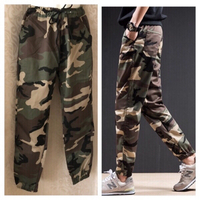 Used Camouflage fashion pants size L in Dubai, UAE