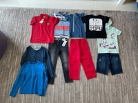Used Bundle clothes for a boy size 6/7 years  in Dubai, UAE
