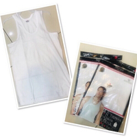 Used 2 pcs White Tank top size S/M ♥️ in Dubai, UAE