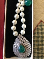 Used Beautiful silver set with jade in Dubai, UAE