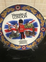 Used Memories of London plate with stand  in Dubai, UAE