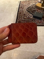 Used Pure leather cardholder  in Dubai, UAE