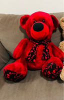 Used RED TEDDY BEAR good condition almost new in Dubai, UAE