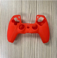 Used Ps5 controller silicone case/cover red in Dubai, UAE