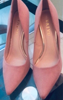 Used For love of heels 👠 size 37 EUR PINK  in Dubai, UAE