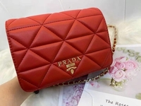 Used New Red Prada bag with packing  in Dubai, UAE