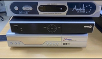 Used 3 not working Dish Receivers  ( Not work in Dubai, UAE