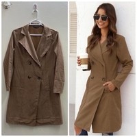 Used New Brown coat from SHEIN🧥❤️ in Dubai, UAE