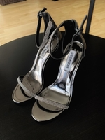 Used Steve Madden high heels sandals 38 size in Dubai, UAE