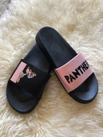 Used Fashion slippers pink panther size 36 in Dubai, UAE