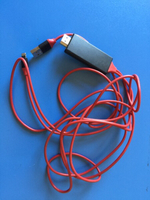 Used 3 in 1 cable - HDMI - USB - Iphone (2M) in Dubai, UAE