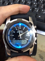 Used men watch with colorful led light  in Dubai, UAE
