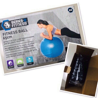 Used Fitness Ball 65cm ♥️ in Dubai, UAE