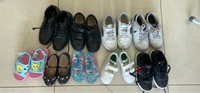 Used 9 pairs of shoes for children in Dubai, UAE