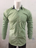 Used Green music 🎵 casual shirt-Size Large in Dubai, UAE