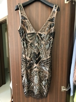 Used Bebe sequin dress in Dubai, UAE