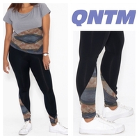 Used Ridge Legging size XL black QNTM in Dubai, UAE