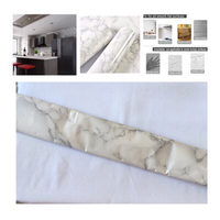 Used 10m Marble Wallpaper sticker in Dubai, UAE