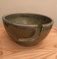 Used Handmade ceramic pot for knitting use. in Dubai, UAE