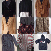 Used SELLING more than 100 branded clothes in Dubai, UAE