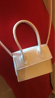 Used White crossbody mini bag in Dubai, UAE