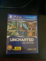 Used Uncharted Nathan drake collection PS4  in Dubai, UAE