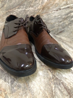 Used Men leather shoes #47 brand new in Dubai, UAE