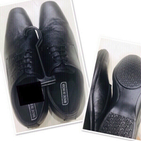 Used Black Men Formal Shoes size/44 ♥️ in Dubai, UAE