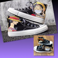 Used ANIME NARUTO CANVASS SHOES/35 in Dubai, UAE