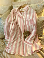 Used Pink Pin Stripe Nightshirt in Dubai, UAE
