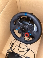 Used Logitech g29 steering wheel ps4 ps3 in Dubai, UAE