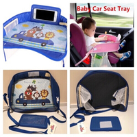 Used Baby car seat table kids travel tray in Dubai, UAE