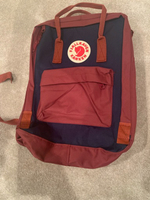 Used Fjall Raven Blue Red Backpack New in Dubai, UAE
