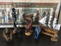 Used All 7 decorations and a framed papyrus  in Dubai, UAE