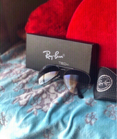 Used Ray-Ban blue shade goggles with box💙👉 in Dubai, UAE