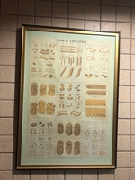 Used Antique pasta poster in Dubai, UAE