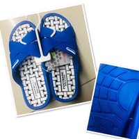 Used Blue/white Rubber Sleepers size 42♥️ in Dubai, UAE