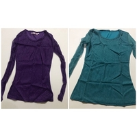Used Blouses &shirts one M / one L in Dubai, UAE