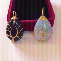 Used Tree 🌲 of life necklace 2pcs (new) in Dubai, UAE